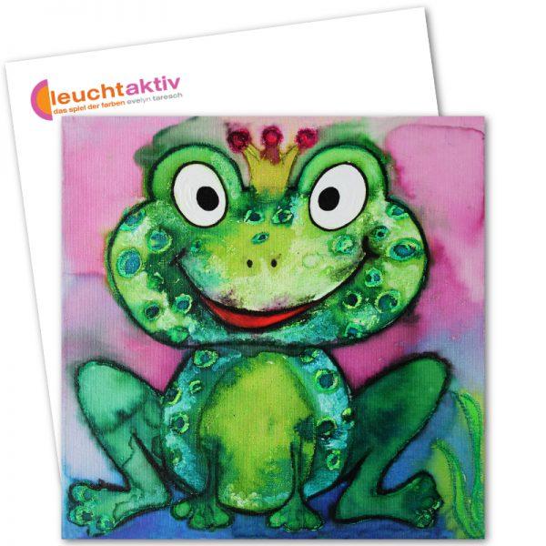 Prinz Froggy Postkarte