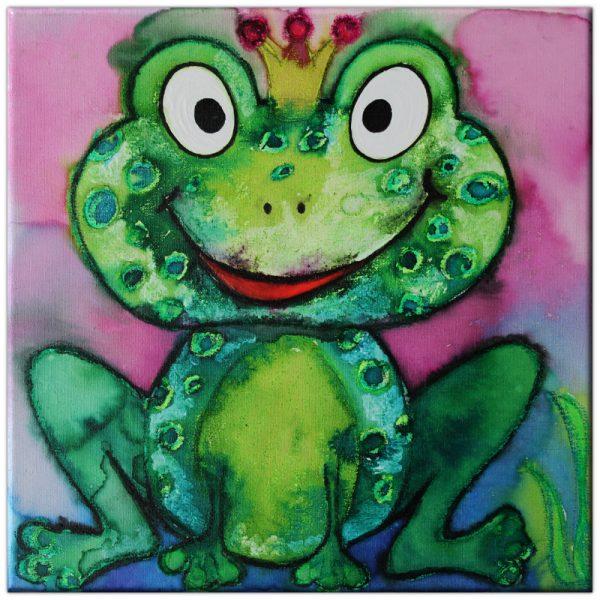 Frosch Prinz Froggy