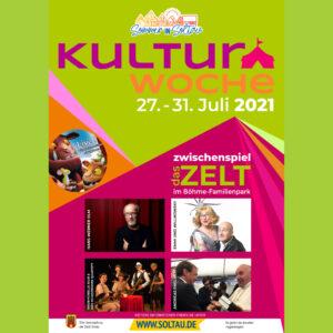 Read more about the article Das offizielle Plakat zur Kulturwoche 2021