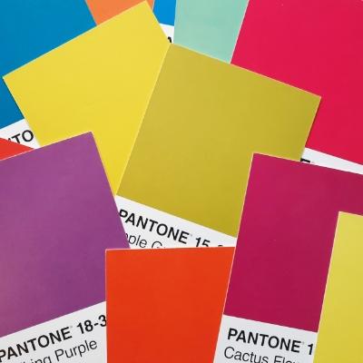 Farbgestaltung Pantone